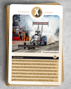 Motorsport-ABC: X