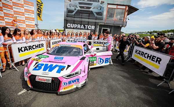 BWT Mücke Motorsport ADAC GT Masters 2018, Most, J. Schmidt, S. Mücke