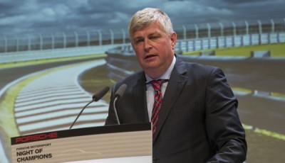 Entwicklungsvorstand Wolfgang Hatz, Porsche