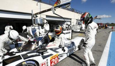 WEC 2014: 3556 Kilometer für die Porsche 919 Hybrid beim Prolog in Paul Ricard