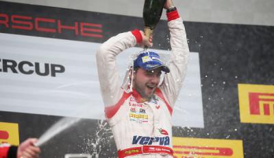 Kuba Giermaziak Porsche Supercup Budapest 2014