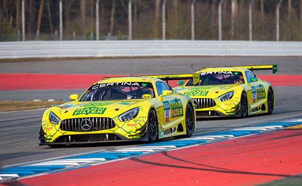 Mann-Filter_HTP-Motorsport_Fahrzeugpräsentation_Mercedes-AMG-GT3_Mamba5