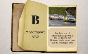 Motorsport ABC: Balance of Performance