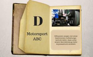 Motorsport ABC: Diffusor