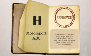 Motorsport ABC: Homologation