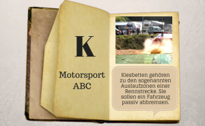 Motorsport ABC: Kiesbett