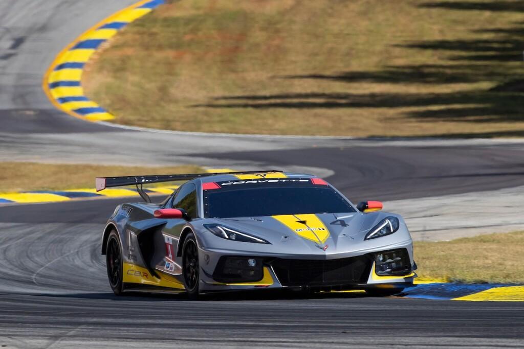 Neue-Corvette-C8.R-Demo-Runden-Road-Atlanta