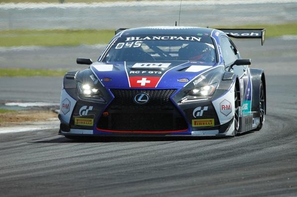 Markus Palttala ging an Luca Stolz vorbei und landete auf Platz vier (Foto: SRO / Blancpain)