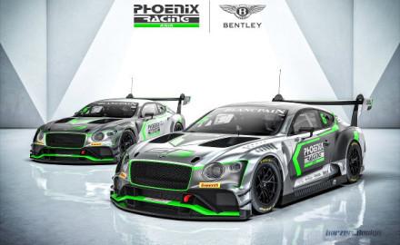 Phoenix-Racing-Asia-kooperiert-mit-Bentley-Motorsport-2018