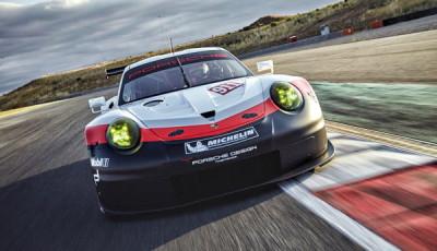 Neuer Porsche 911 RSR Modelljahr 2017