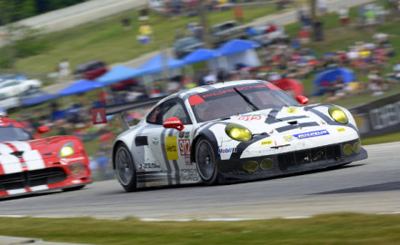 Porsche 911 RSR Porsche North America Patrick Long Michael Christensen
