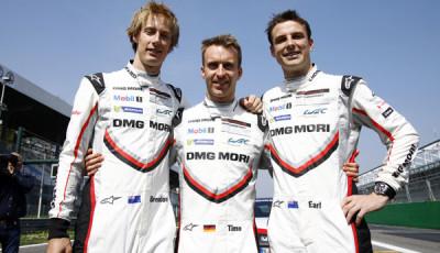 Porsche Motorsport_Bamber-Bernhard-Hartley_WEC-Fahrertitel-2017