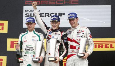 Porsche-Supercup-2015-Sven-Müller-Podium-Budapest