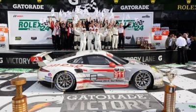 Porsche gewinnt Daytona in GTLM