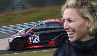 Audi RS 3 LMS #802 (Phoenix Racing), Rahel Frey/Christopher Haase