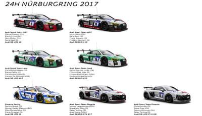Audi Auftritt_24h Nürburgring 2017