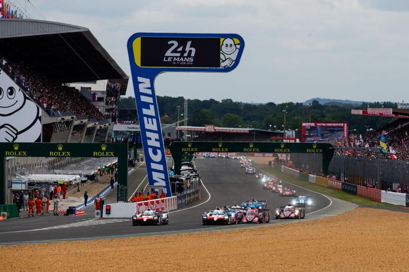 Start 24h Le Mans (c) FIAWEC, Joao Filipe