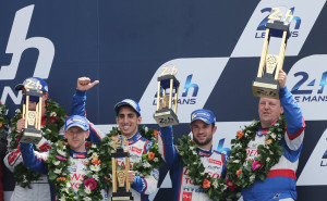 Toyota Racing finishes 3rd in Le Mans 2014