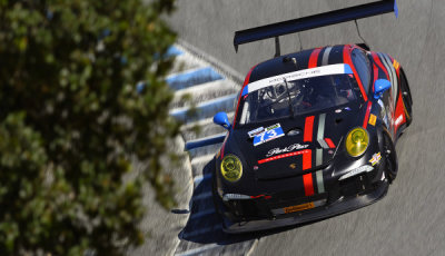 USCC-2015-Laguna-Seca-Porsche-911-GT-America-Pumpelly-Lindsey