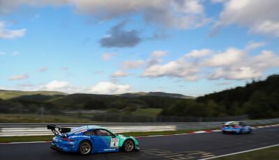VLN Langstreckenmeisterschaft Nuerburgring 2019, 59. ADAC Reinoldus-Langstreckenrennen (2019-09-28): #4 - Joerg Bergmeister, Martin Ragginger (Porsche 911 GT3 R) - SP9 Pro