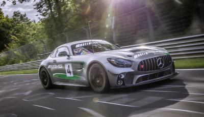 Der Mercedes-AMG GT4 startet erstmals auf der Nürburgring-Nordschleife