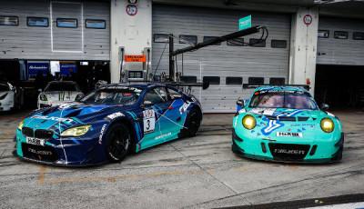 VLN-2017-Lauf-9-Falken-Motorsports-BMW-M6-GT3-Porsche-911-GT3-R