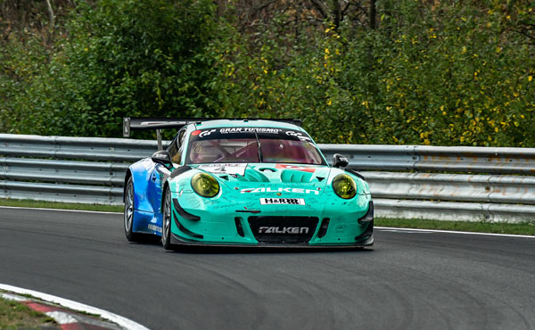 VLN 9 2018_Falken Motorsport_Porsche 911 GT3 R_Tagessieg