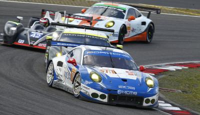 WEC Nürburgring 2016: Porsche 911 RSR (78), KCMG: Wolf Henzler, Joel Camathias, Christian Ried