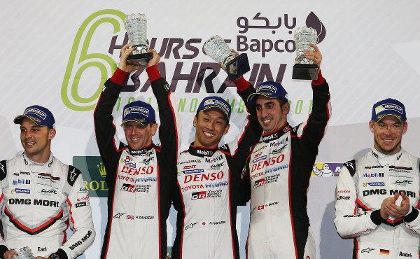 WEC-2017-Bahrain-Sieger-Toyota-Podium