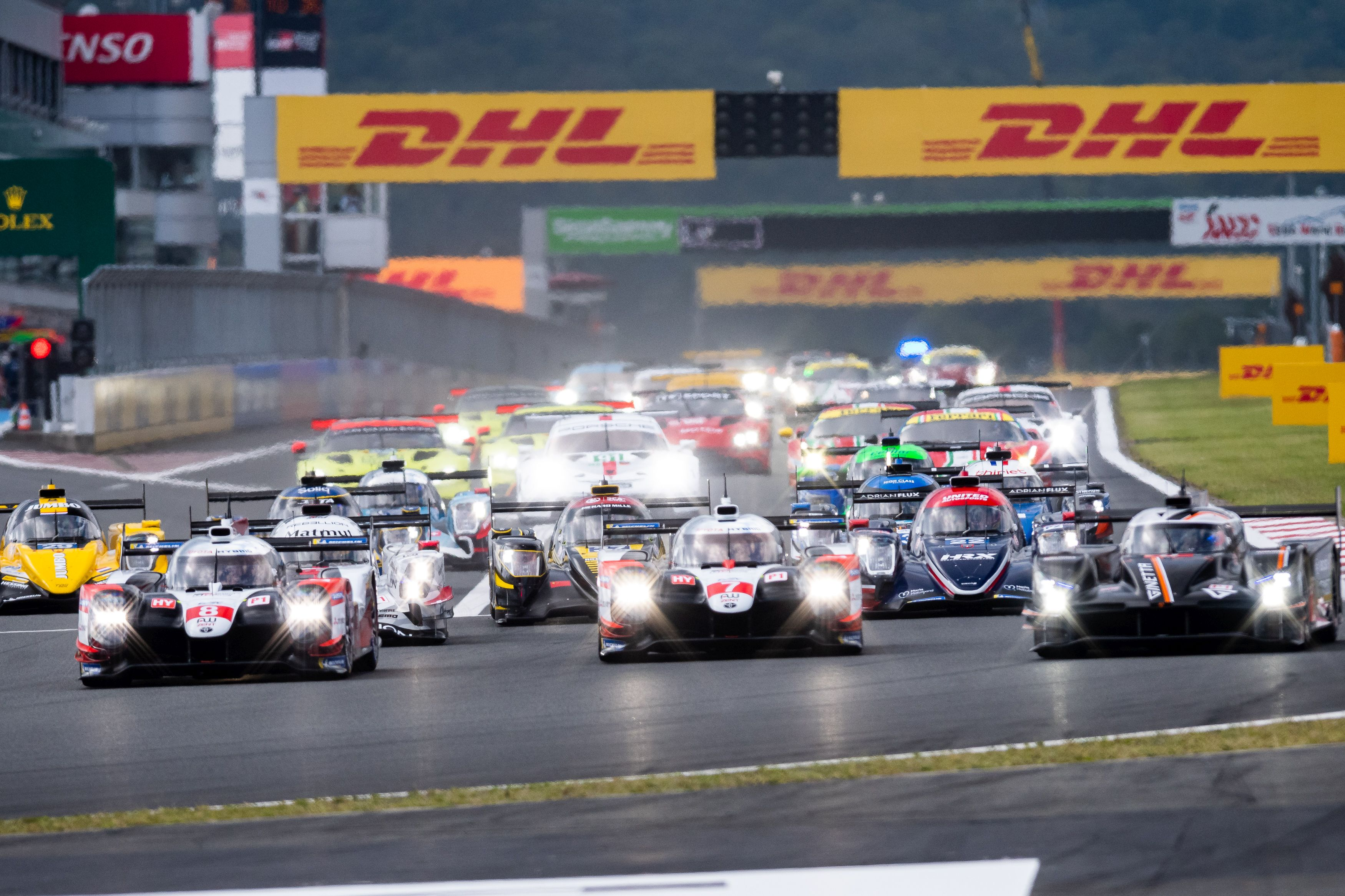 Start - 6 Hours of Fuji - Fuji International Speedway - Oyama - Japan
