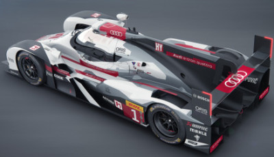 Audi R18 e-tron quattro with long tail