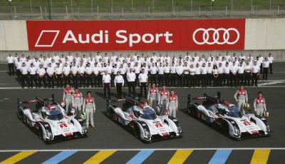 Audi Motorsport 24h Le Mans