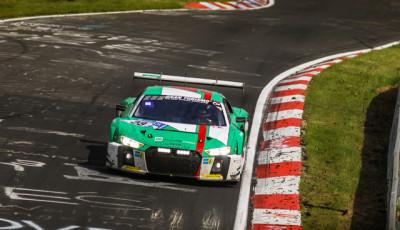 24h Nürburgring 2017 Land Motorsport Audi R8 LMS