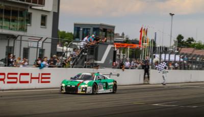 Sieger_Land Motorsport_Audi R8 LMS_24h Nürburgring 2017